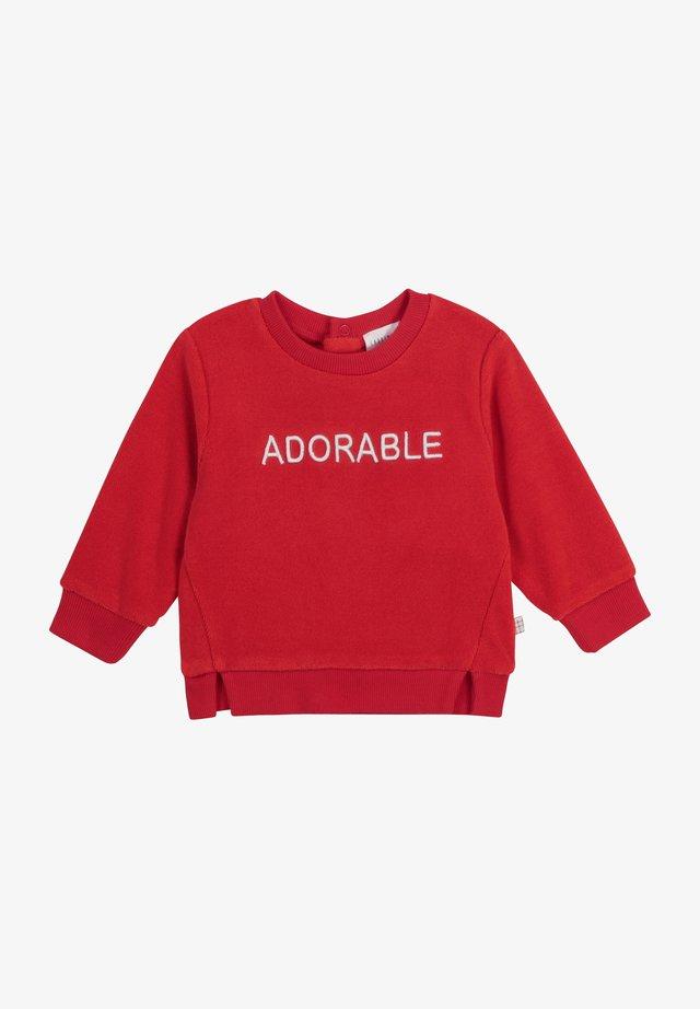 Sweatshirt - rouge orange
