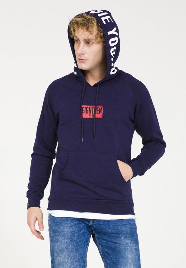 Huppari - dark blue