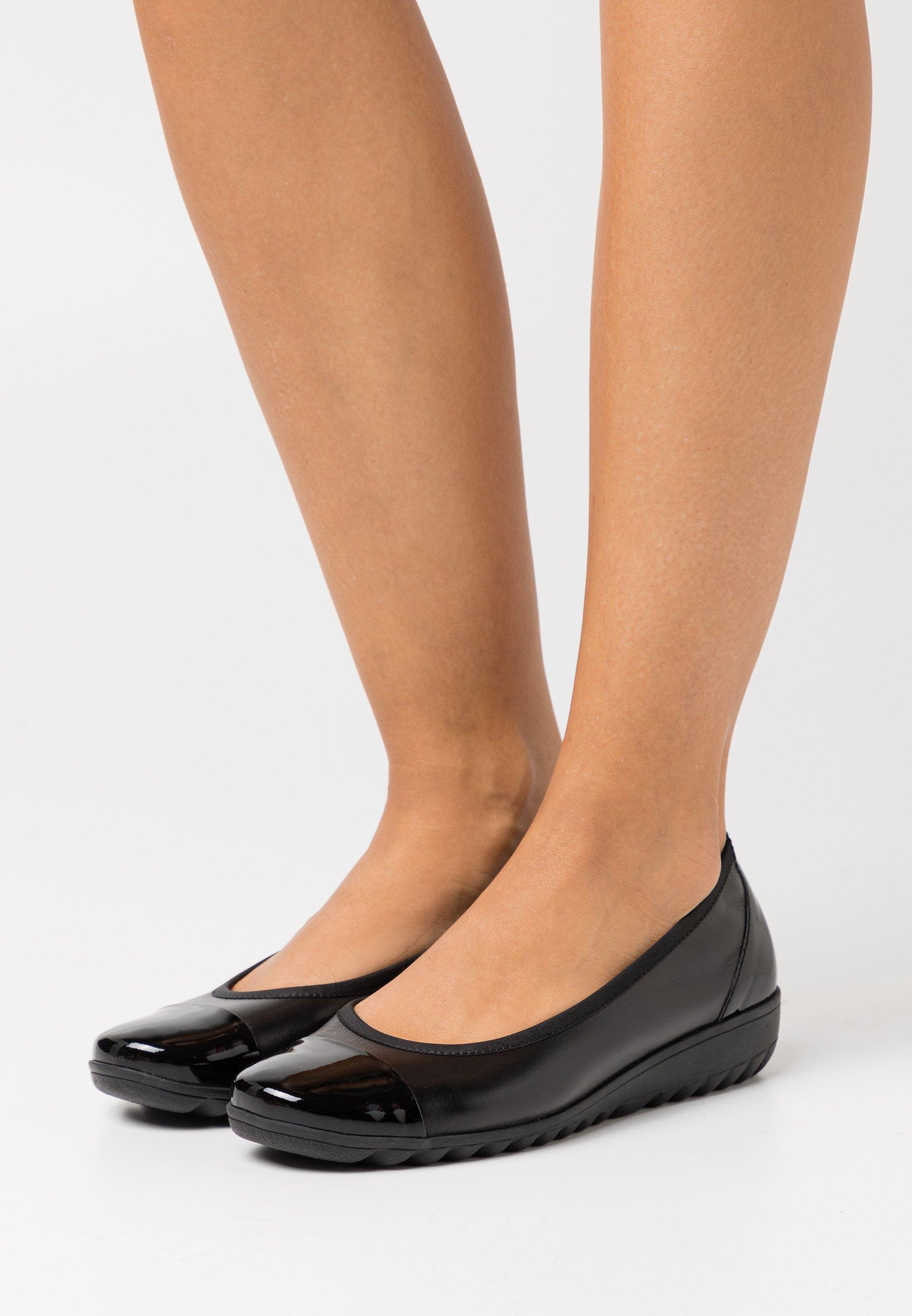 Women COURT SHOE - Ballet pumps - black