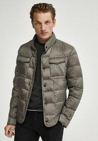 Massimo Dutti - Down jacket - dark grey - 0