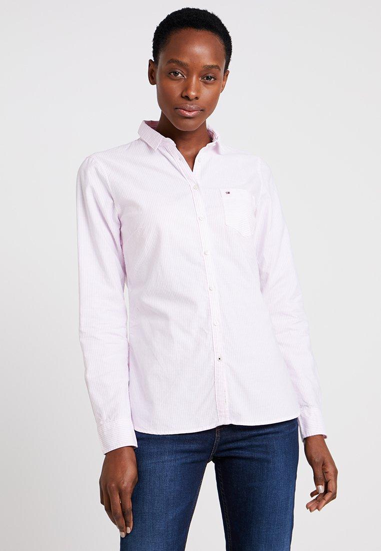 Tommy Hilfiger - HERITAGE REGULAR FIT - Button-down blouse - rose