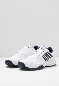 K-SWISS - COURT EXPRESS - Clay court tennis shoes - white/navy - 2