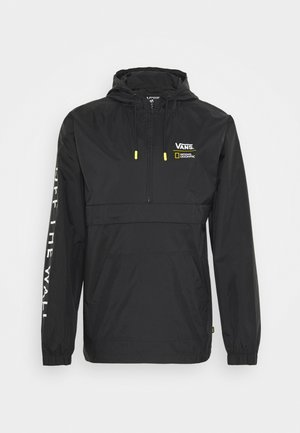 VANS X NATIONAL GEOGRAPHIC ANORAK - Giacca a vento - black