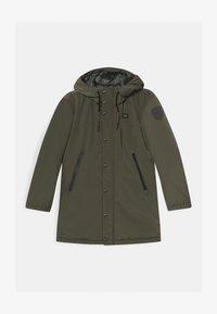 Blauer - IMPERMEABILE LUNGHI OVATTA - Winter coat - dark green - 0
