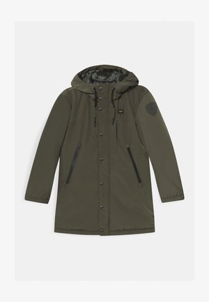 IMPERMEABILE LUNGHI OVATTA - Winter coat - dark green