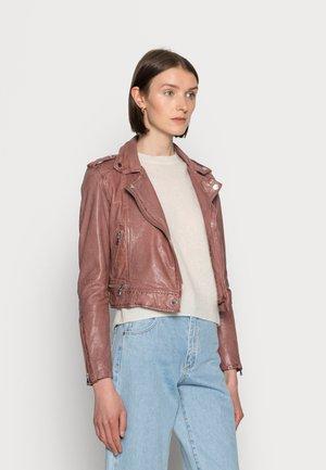 KYOTO  - Kožená bunda - light pink