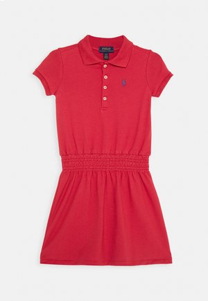 SMOCK DRESS - Denní šaty - nantucket red