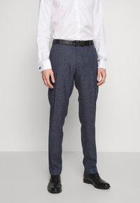 Tommy Hilfiger Tailored - BLEND  SLIM FIT SUIT - Suit - blue - 4