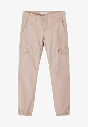 Cargo trousers - adobe rose