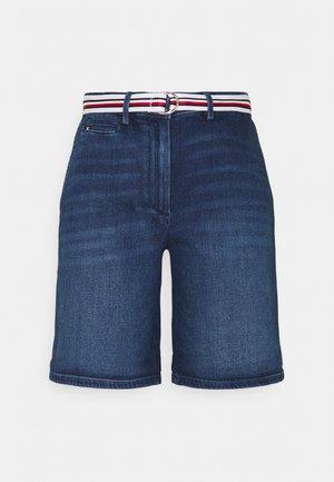 SLIM BERMUDA - Szorty jeansowe - tam