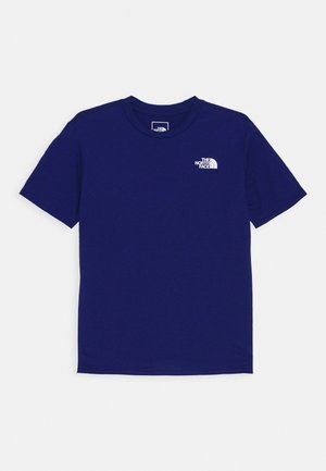 ON MOUNTAIN TEE  - T-paita - bolt blue