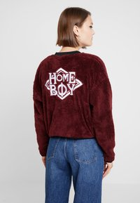 Homeboy - POODLE - Fleece jacket - bordeaux - 2