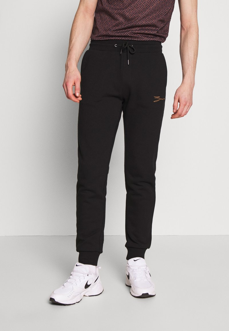 Zign - Tracksuit bottoms - black