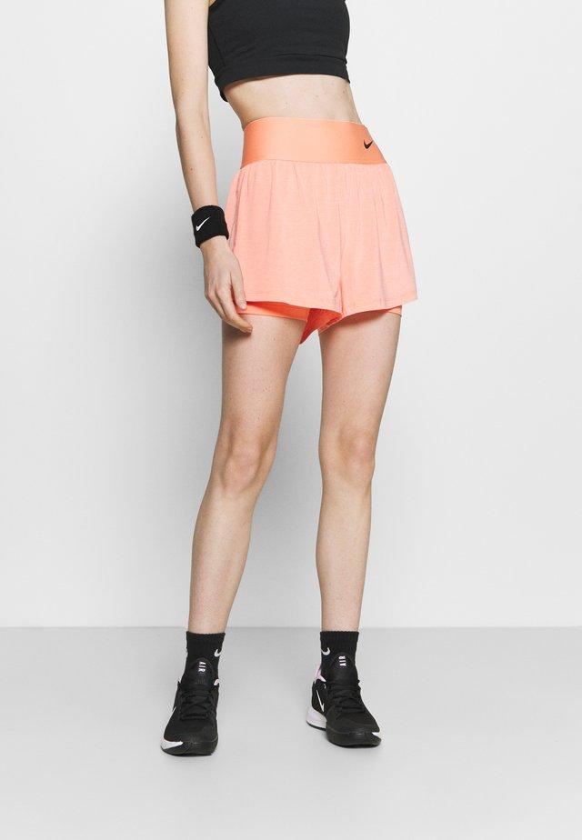 ADVANTAGE SHORT - Sports shorts - crimson bliss/black