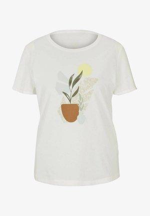 T-shirts print - whisper white
