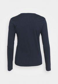 Marks & Spencer London - STRAIGHT CREW - Long sleeved top - dark blue - 1