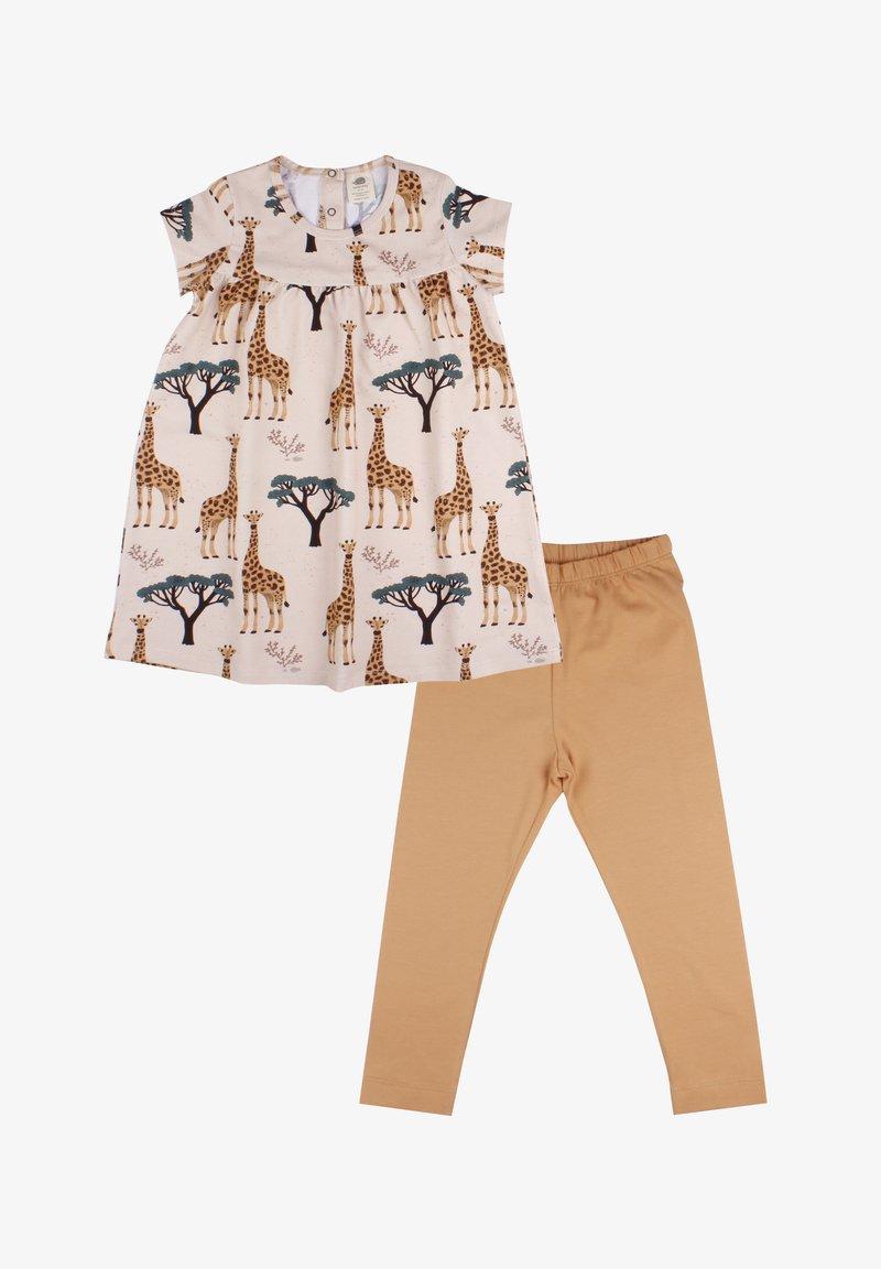 Walkiddy - Day dress - giraffes