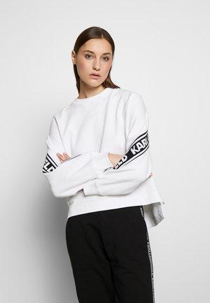 RUE ST GUILLAUME LOGO  - Sweatshirt - white