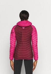 Dynafit - RADICAL HOOD - Down jacket - flamingo - 2