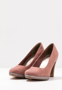 Marco Tozzi - COURT SHOE - Zapatos altos - old rose - 4