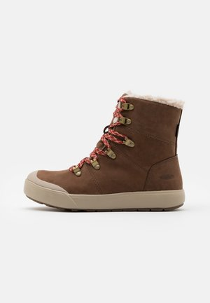 ELENA HIKER BOOT WP - Botas para la nieve - sea lion/plaza taupe