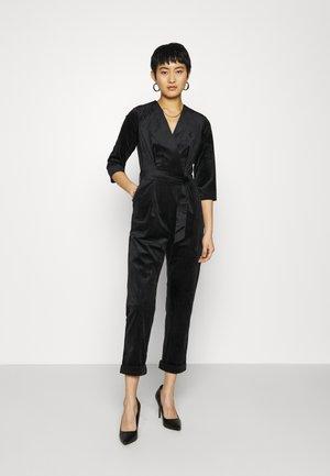 CLOSET WRAP FRONT - Jumpsuit - black