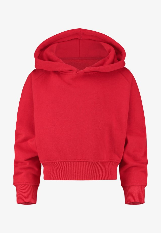Sweat à capuche - classic red