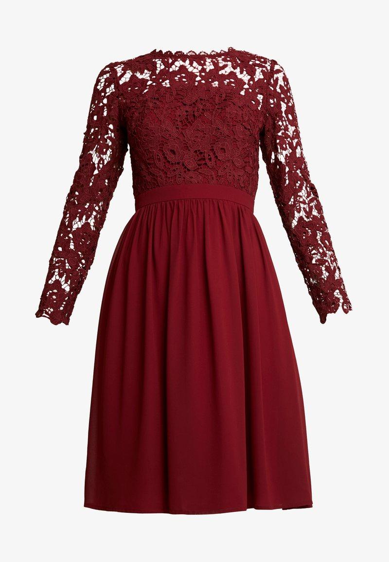 lyana dress - cocktailkleid/festliches kleid - burgundy