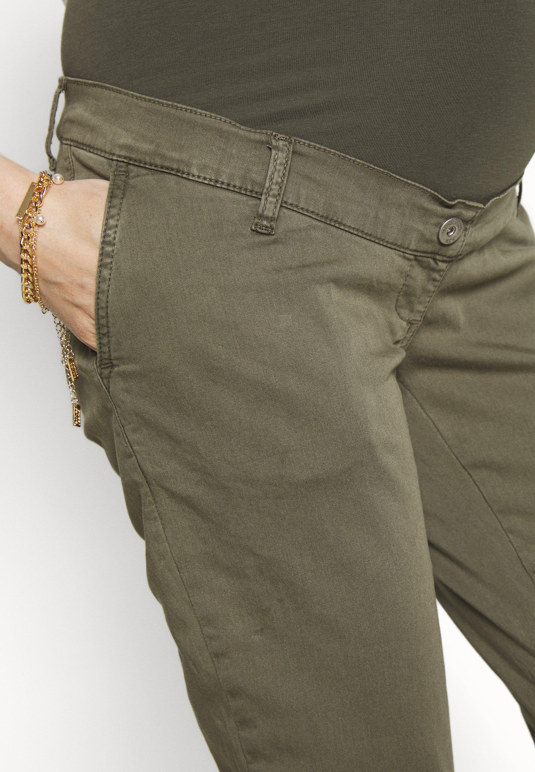 LOVE2WAIT CHINO - Pantalon classique - khaki - Pantalons & Leggings Femme nwXQp