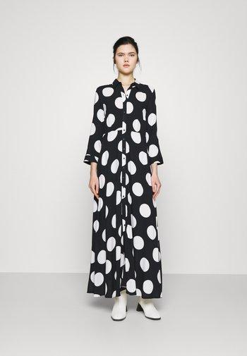 YASSAVANNA DOT LONG SHIRT DRESS