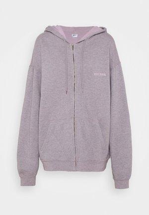 ZIP HOODIE - Zip-up hoodie - grey lavendar