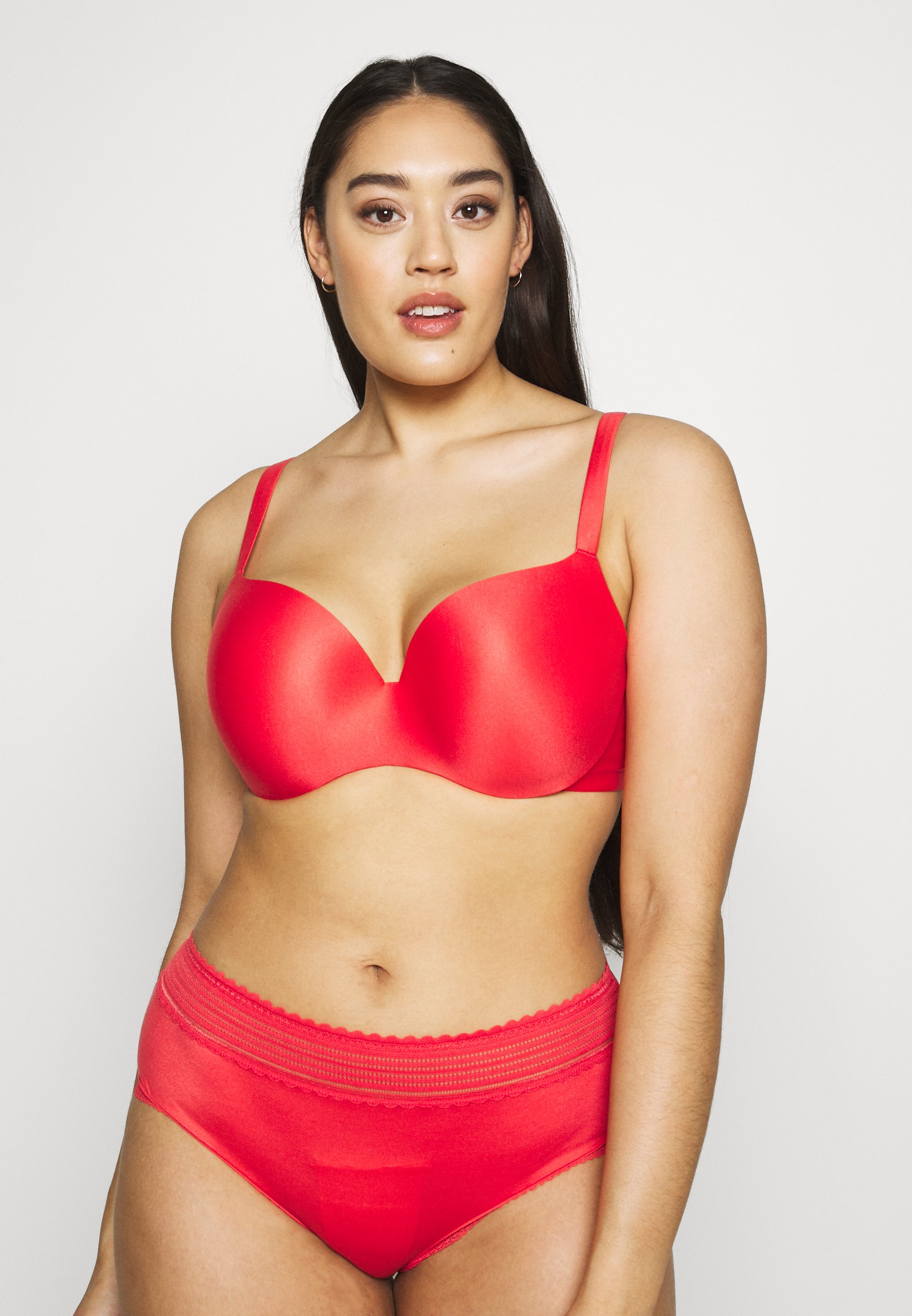 City Chic BODYCON BRA - Push-up BH - tangerine