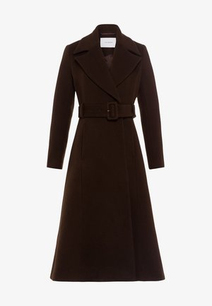 Classic coat - dark chocolate