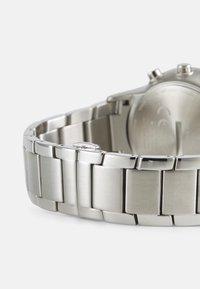 Emporio Armani Connected - RENATO CONNECTED - Chronograph watch - silver-coloured/blue - 1