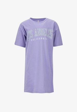 Jersey dress - purple