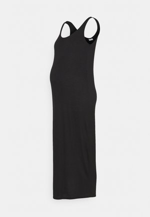 PCMKALLI MAXI TANK DRESS - Maxikjole - black