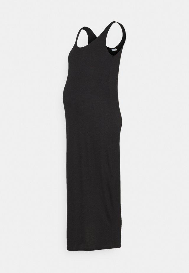 PCMKALLI MAXI TANK DRESS - Maxi-jurk - black