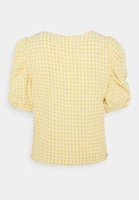 Object Petite - OBJTAMAR  - T-shirt con stampa - bamboo/sandshell - 1