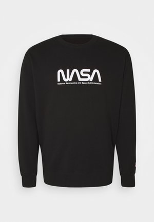 COLLAB CREW - Sweatshirt - black