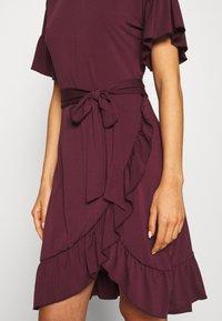 Vero Moda - VMPOPPY TIE SHORT DRESS - Shift dress - fig - 6