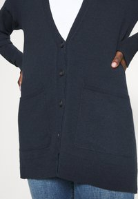 Abercrombie & Fitch - ICON CARDI - Cardigan - navy - 5