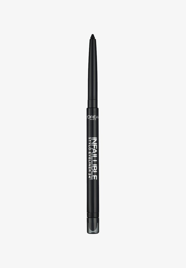 INFAILLIBLE EYELINER - Eyeliner - 301 night & day black