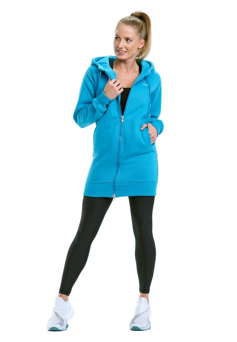 Winshape - Zip-up hoodie - sky blue