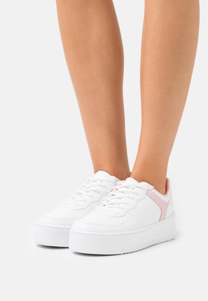 EDITION PLATFORM - Sneakers laag - white/pink