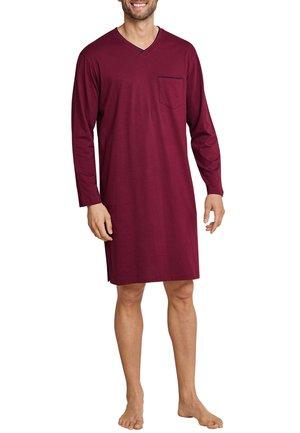 Pyjama top - dunkelrot