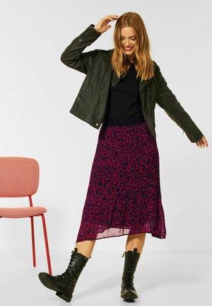 MIT LEO  - Pleated skirt - rot