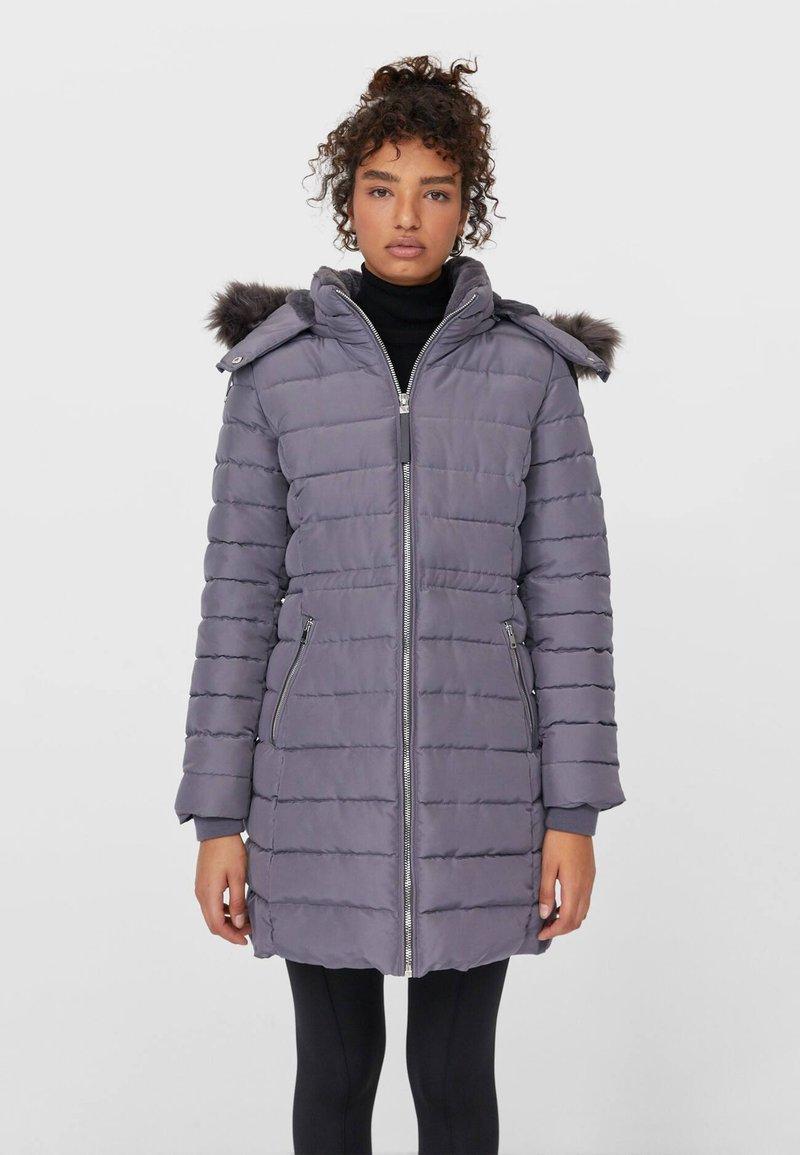 Stradivarius - Winter coat - grey