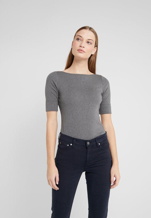 T-shirt print - lexington grey heather