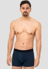INDICODE JEANS - 7 PACK - Pants - black/grey/navy/white - 4