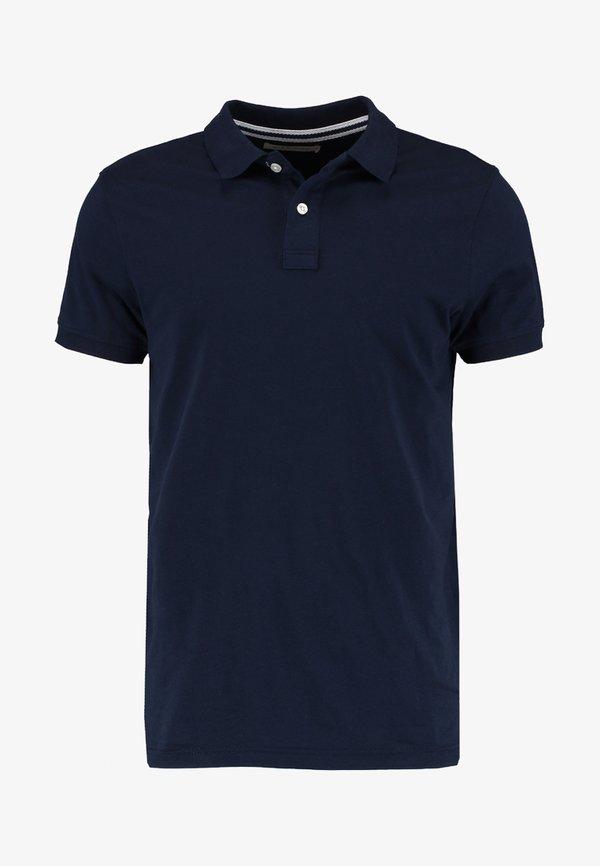 Pier One Koszulka polo - dark blue/niebieski Odzież Męska LBSA